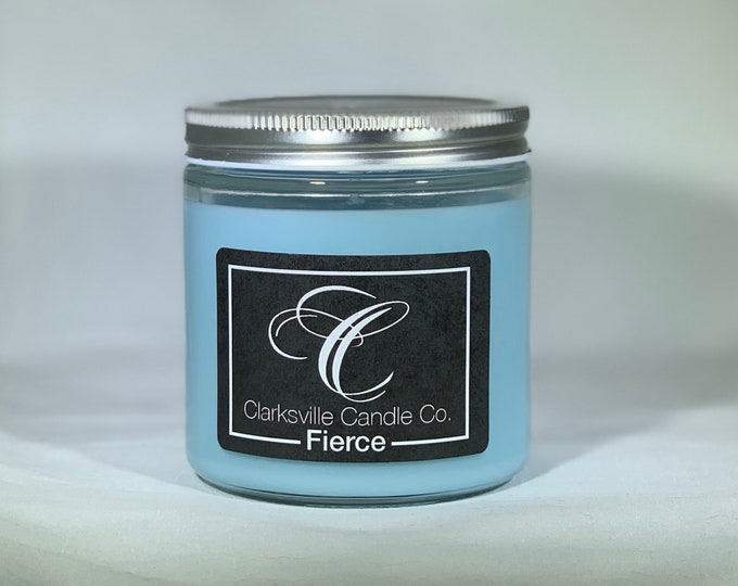 Fierce All Natural Soy Candle 12oz