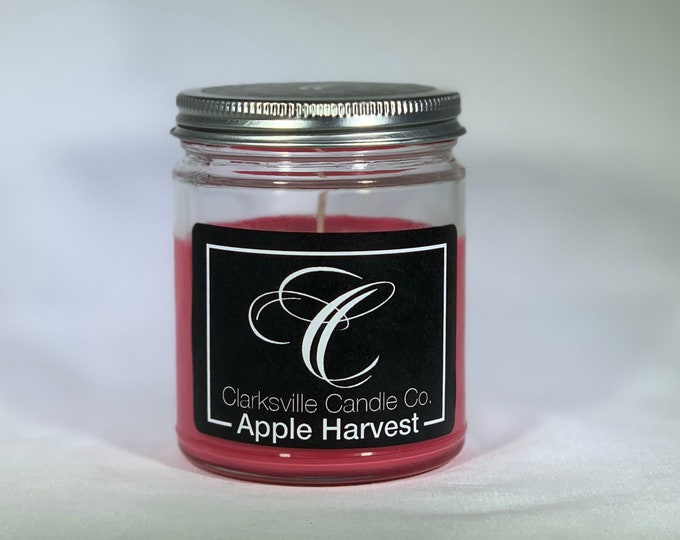 Apple Harvest All Natural Soy Candle 6oz
