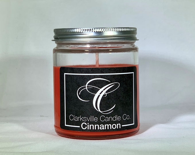 Cinnamon All Natural Soy Candle 6oz
