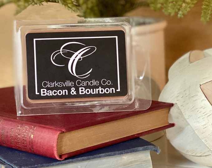 Bacon & Bourbon All Natural Soy Wax Melts 2.75oz