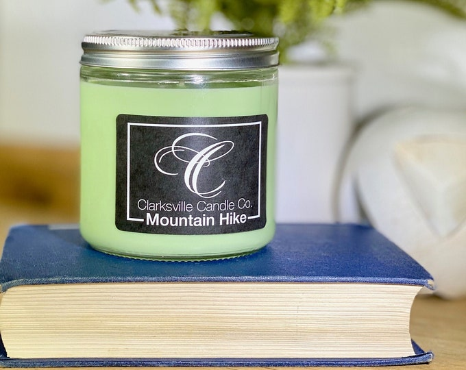 Mountain Hike All Natural Soy Candle 6oz
