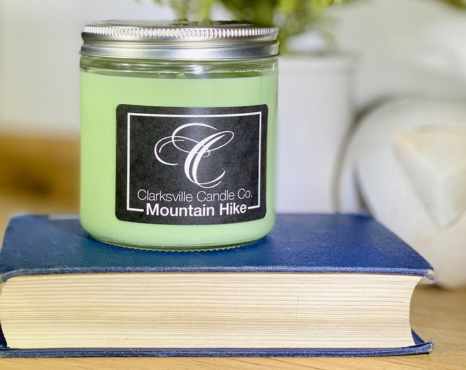 Mountain Hike All Natural Soy Candle 12oz