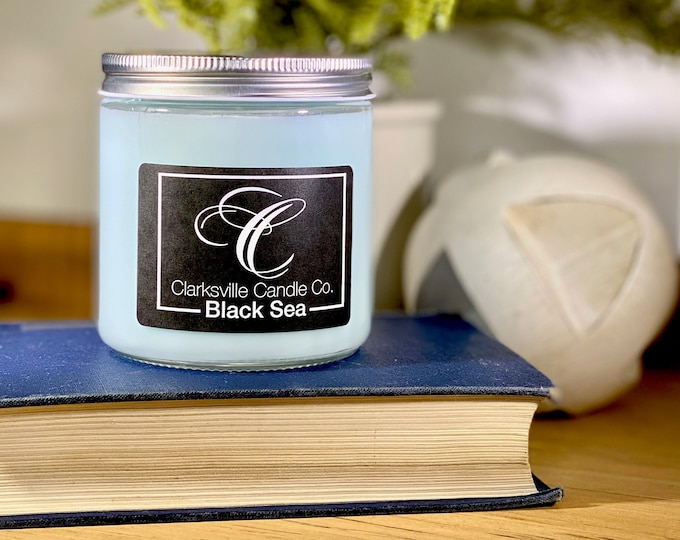 Black Sea All Natural Soy Candle 12oz