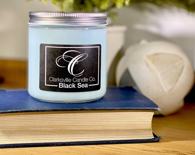 Black Sea All Natural Soy Candle 6oz