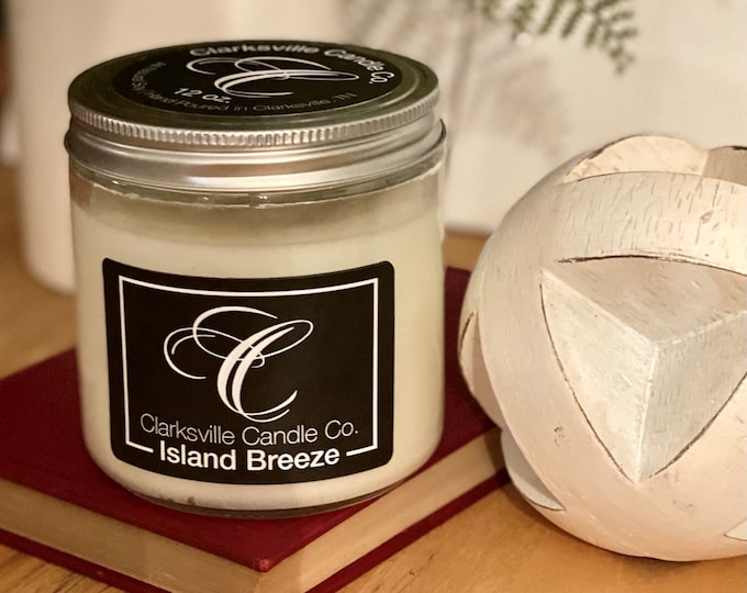 Island Breeze All Natural Soy Candle 6oz