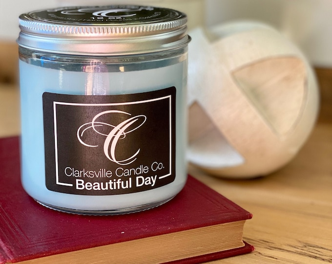 Beautiful Day All Natural Soy Candle 12oz