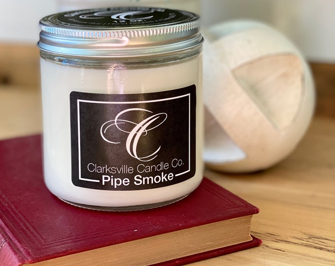 Pipe Smoke All Natural Soy Candle 6oz