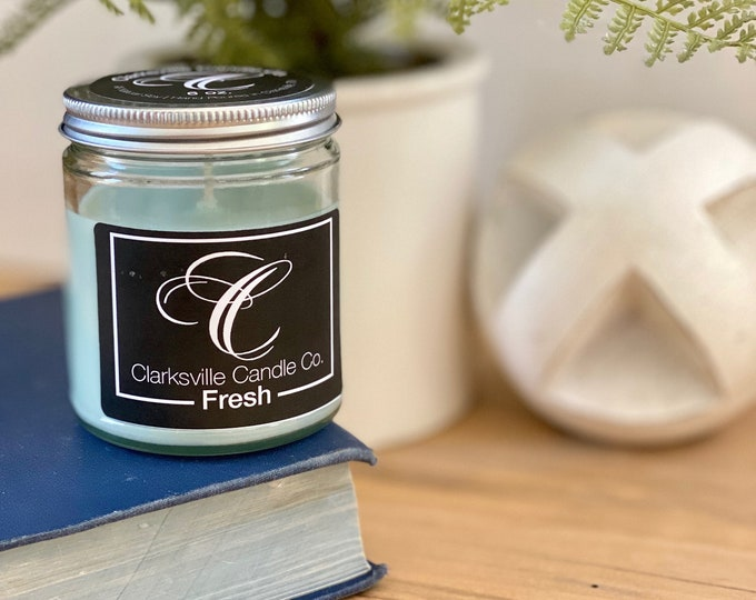 Fresh All Natural Soy Candle 12oz