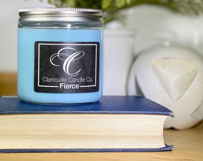 Fierce All Natural Soy Candle 6oz