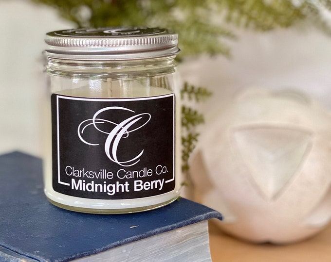 Midnight Berry All Natural Soy Candle 120z