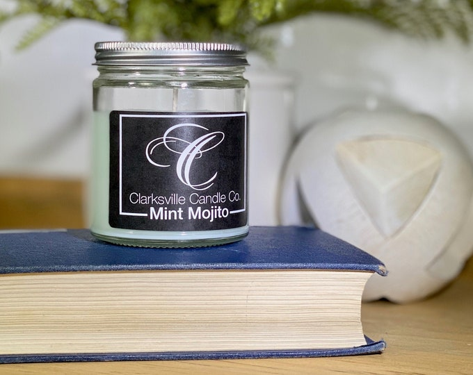 Mint Mojito All Natural Soy Candle 6oz