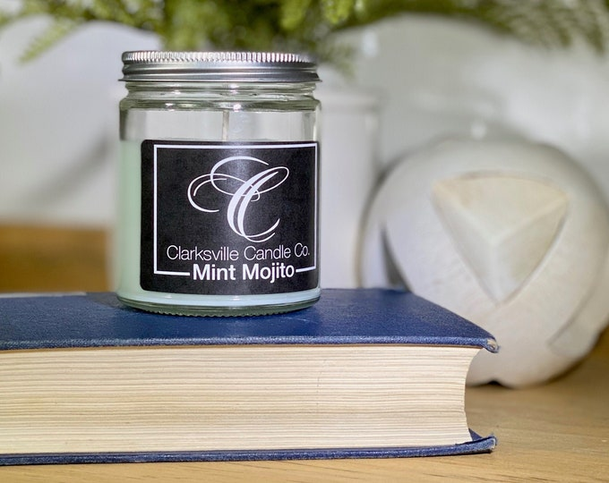Mint Mojito All Natural Soy Candle 12oz