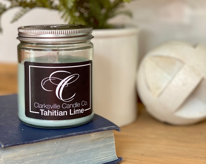 Tahitian Lime All Natural Soy Candle 12oz