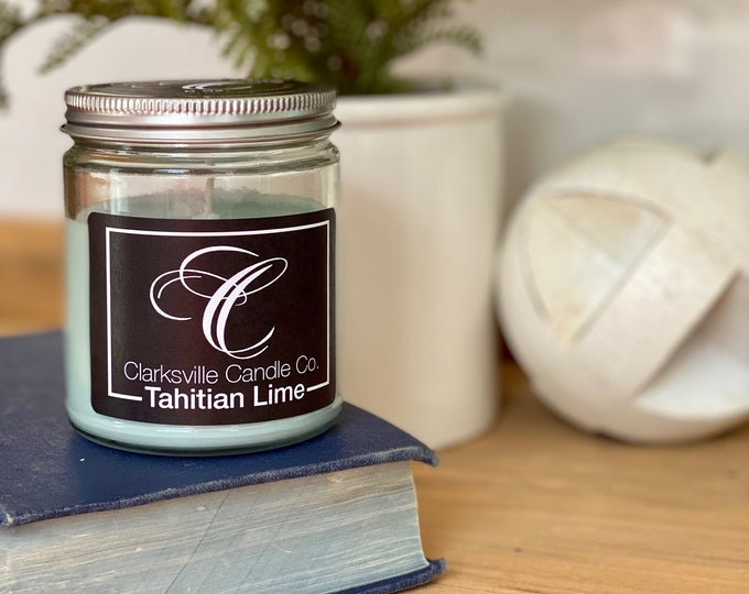 Tahitian Lime All Natural Soy Candle 6oz