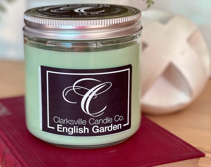 English Garden All Natural Soy Candle 12oz
