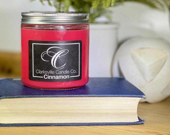Cinnamon All Natural Soy Candle 12oz