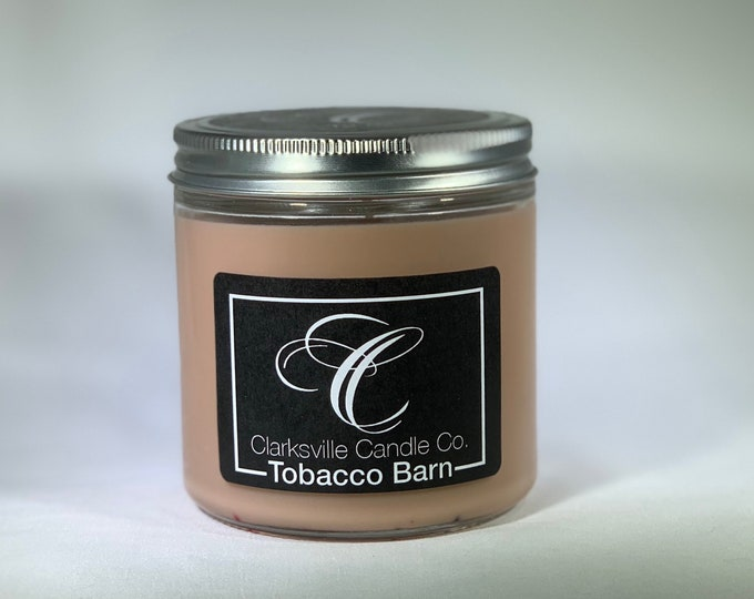 Tobacco Barn All Natural Soy Candle 12oz