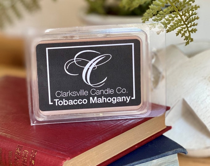 Tobacco Mahogany All Natural Soy Wax Melts 2.75oz