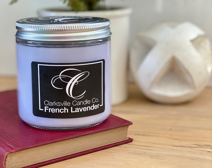French Lavender All Natural Soy Candle 6oz