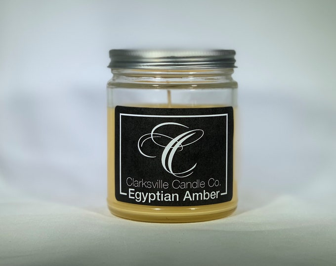 Egyptian Amber All Natural Soy Candle 12oz