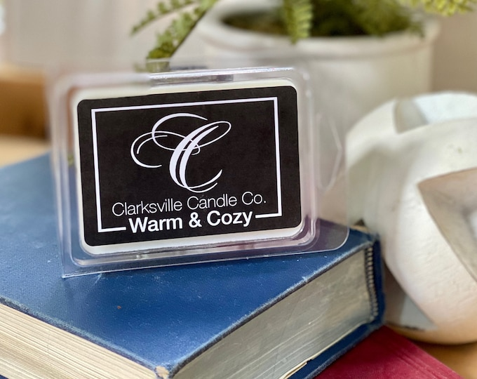 Warm & Cozy All Natural Soy Melts 2.75oz
