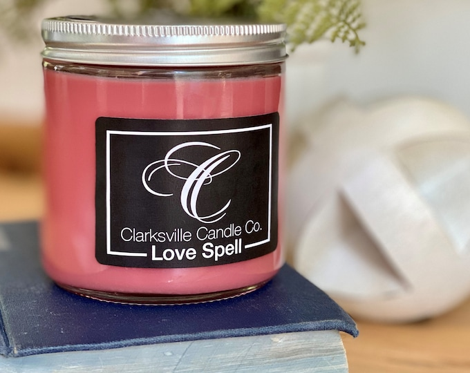 Love Spell All Natural Soy Candle 6oz