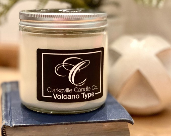 Volcano Type All Natural Soy Candle 6oz