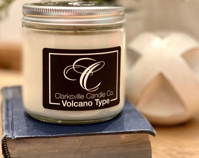 Volcano Type All Natural Soy Candle 12oz