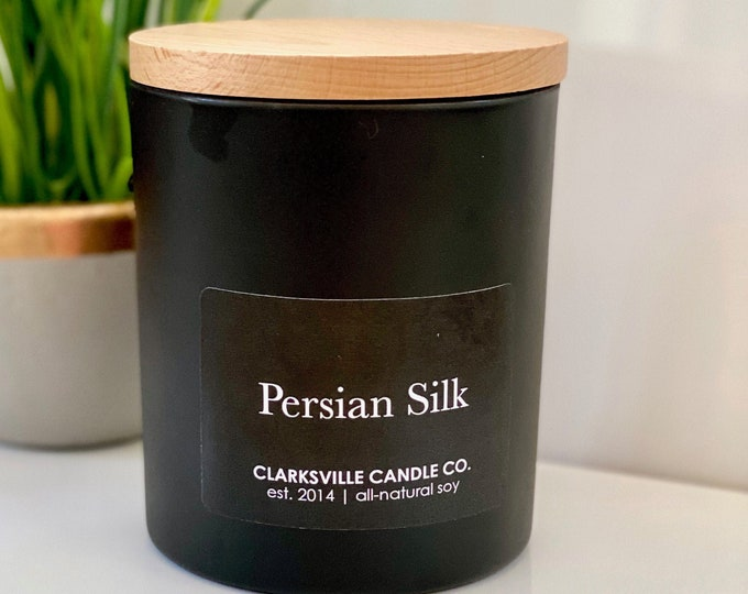Persian Silk All Natural Soy Candle 14oz
