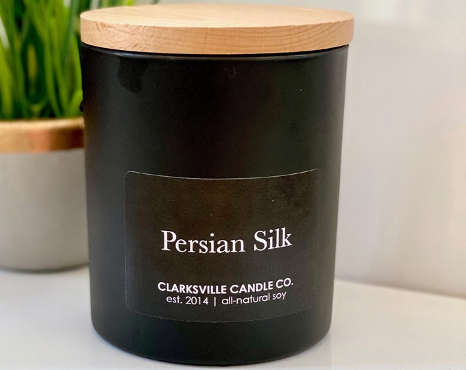 Persian Silk All Natural Soy Candle 10oz