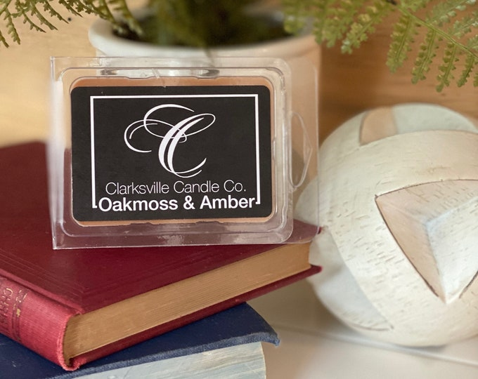 Oakmoss & Amber All Natural Soy Wax Melts 2.75oz