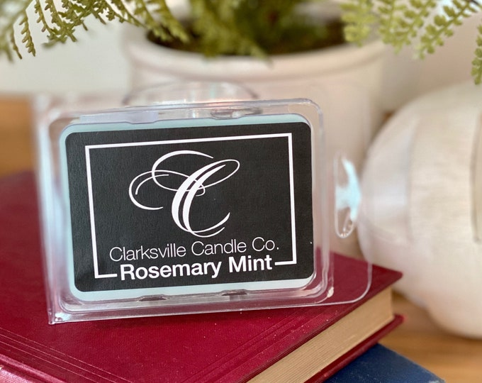 Rosemary Mint All Natural Soy Wax Melts 2.75oz