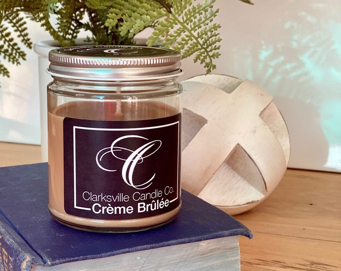 Creme Brulee All Natural Soy Candle 6oz