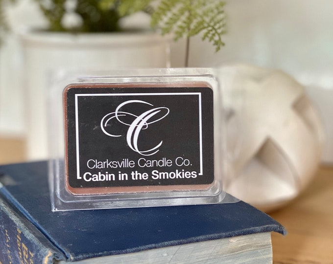Cabin in the Smokies All Natural Soy Wax Melts 2.75oz