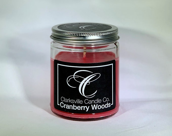 Cranberry Woods All Natural Soy Candle 12oz