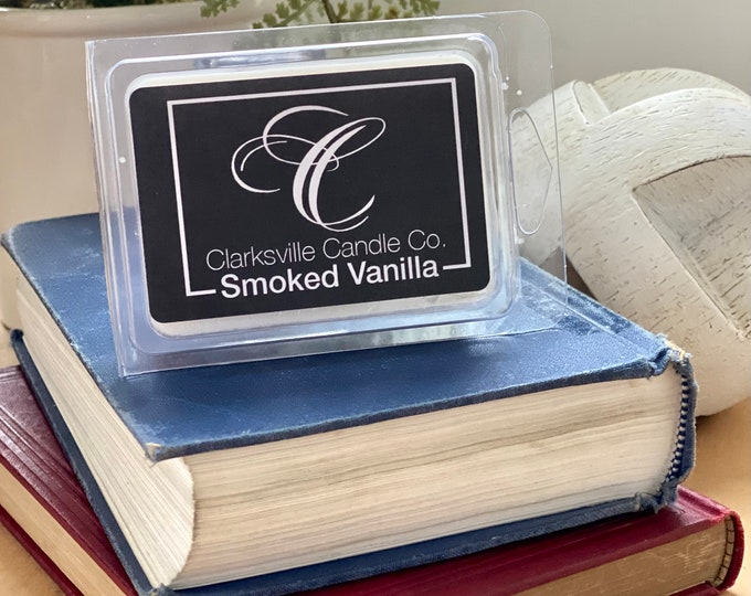 Smoked Vanilla All Natural Soy Wax Melts 2.75oz