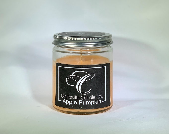 Apple Pumpkin All Natural Soy Candle 12oz