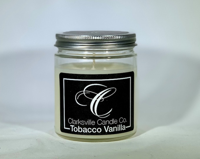 Tobacco Vanilla All Natural Soy Candle 6oz