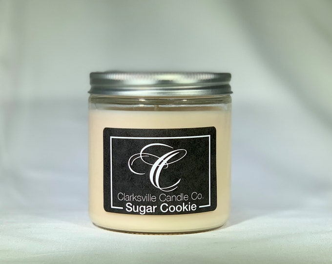 Sugar Cookie All Natural Soy Candle 12oz