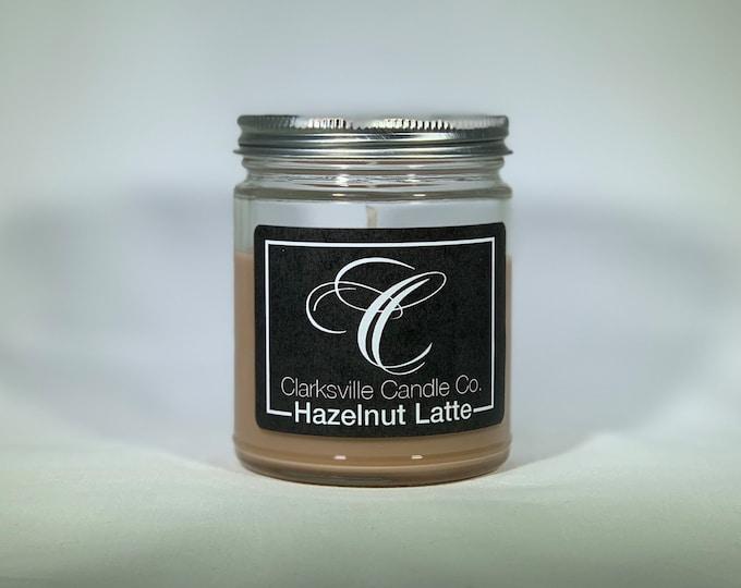 Hazelnut Latte All Natural Soy Candle 12oz