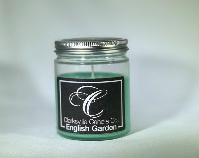English Garden All Natural Soy Candle 6oz