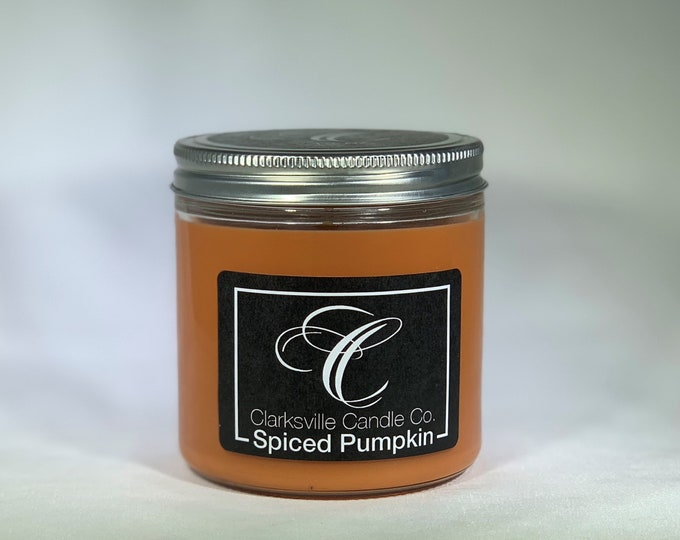 Spiced Pumpkin All Natural Soy Candle 12oz
