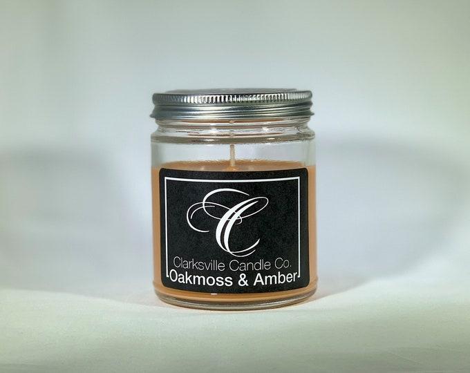 Oakmoss Amber All Natural Soy Candle 12oz