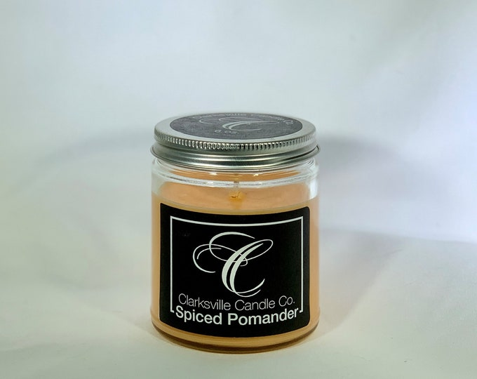 Spiced Pomander All Natural Soy Candle 6oz
