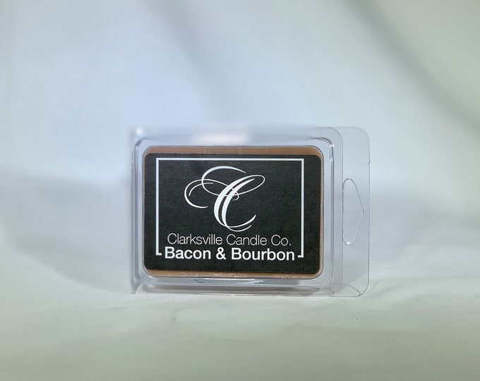 Bacon & Bourbon All Natural Soy Wax Melts