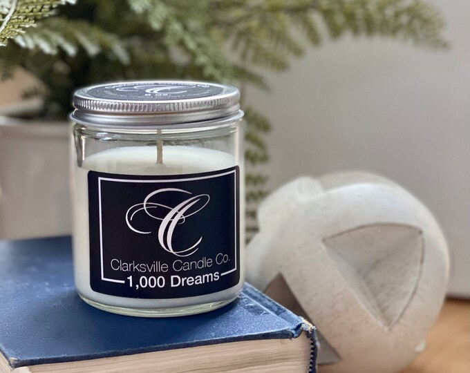 1,000 Dreams All Natural Soy Candle 6oz
