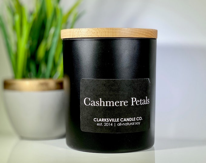 Cashmere Petals All Natural Soy Candle 12oz