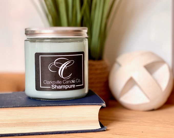 Shampure All Natural Soy Candle 6oz