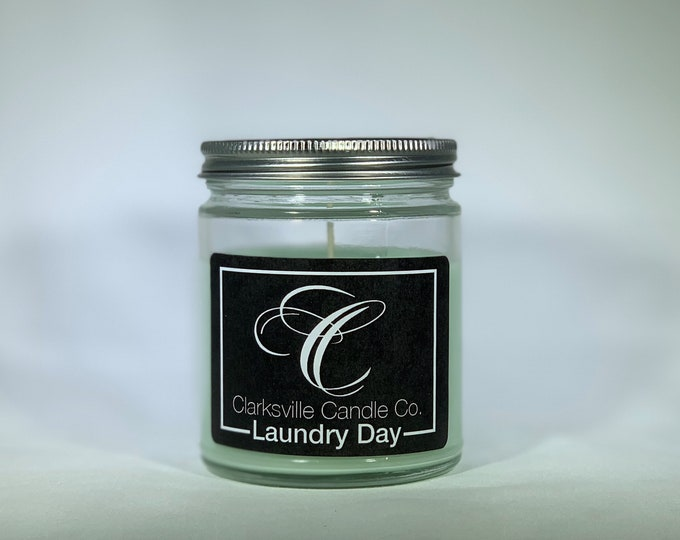 Laundry Day All Natural Soy Candle 12oz