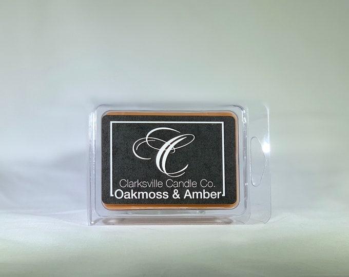 Oakmoss & Amber All Natural Soy Wax Melts 2.75oz